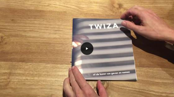 twiza - leafing through the book